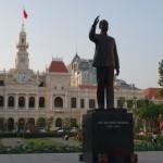 Präsident Ho Chi Minh Statue