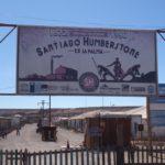 Humberstone Salpeterwerke - Eingang